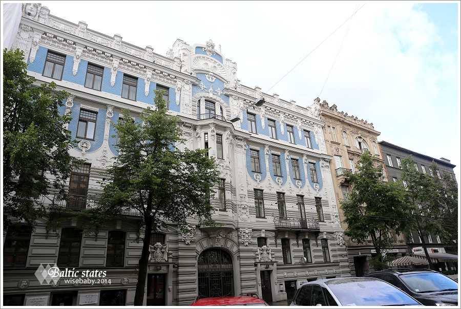 拉脫維亞|首都里加歐洲之最.里加使館區新藝術建築群Art Nouveau