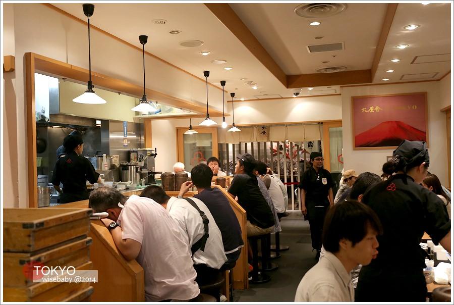 [日本] 食記-東京::Q彈粗麵+濃厚湯頭❤沾麵推薦@六厘舎TOKYO東京駅一番街