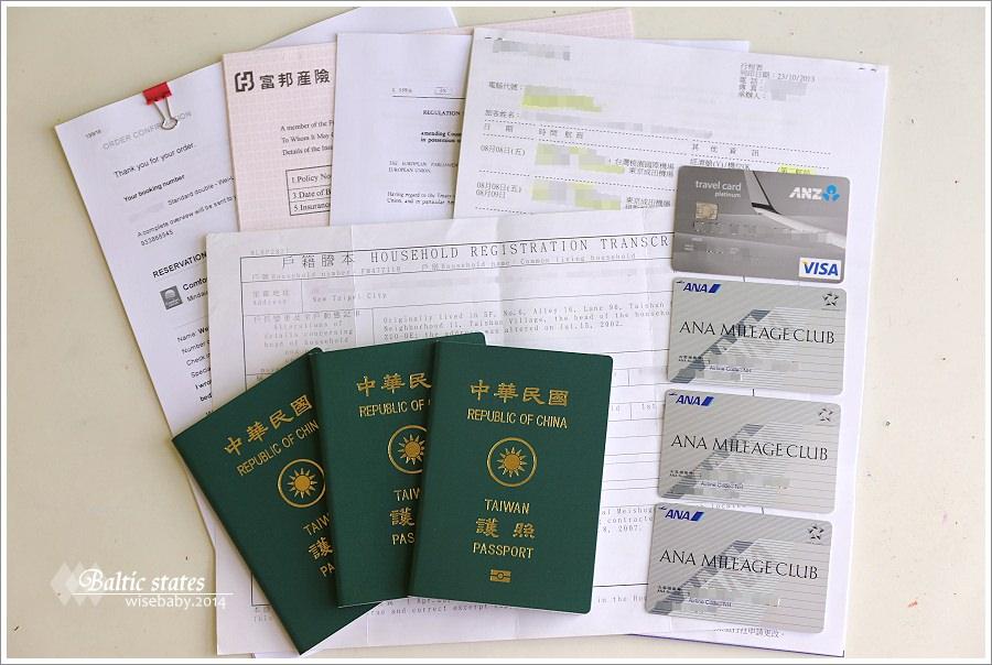 Baltic states行前準備【8】入境申根會員國要準備的文件