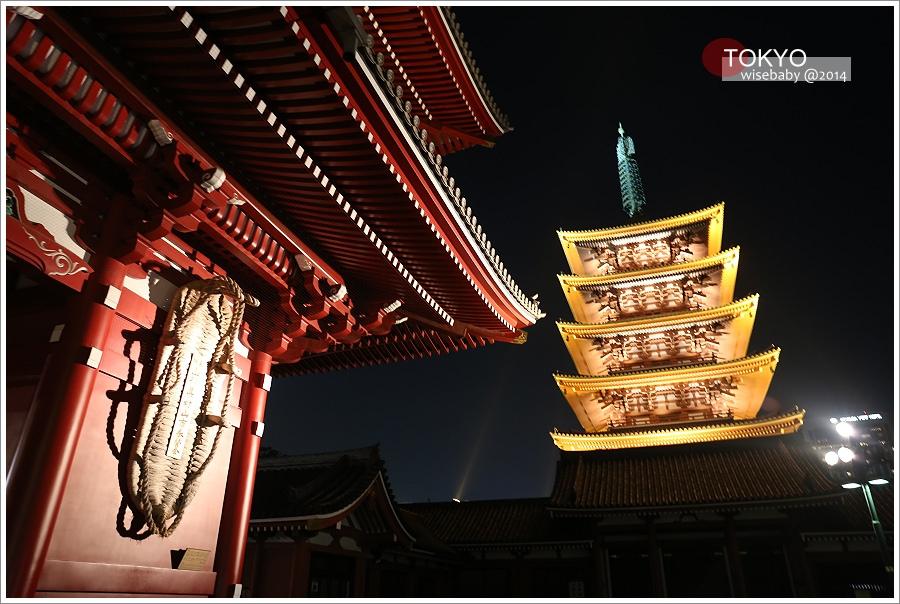 [東京自助] 景點-淺草::雷門、仲見世通與淺草寺的晝與夜