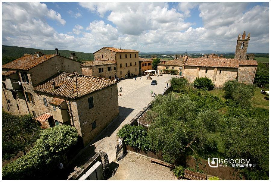 義大利   托斯卡尼租車自駕推薦行程.中古世紀小鎮Monteriggioni